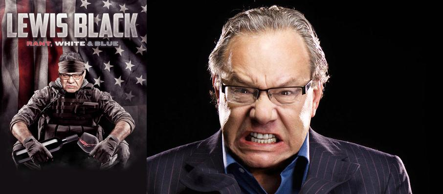 Lewis Black at Tennessee Theatre