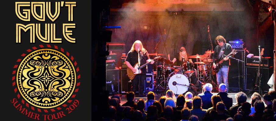 Govt Mule at The Mill & Mine