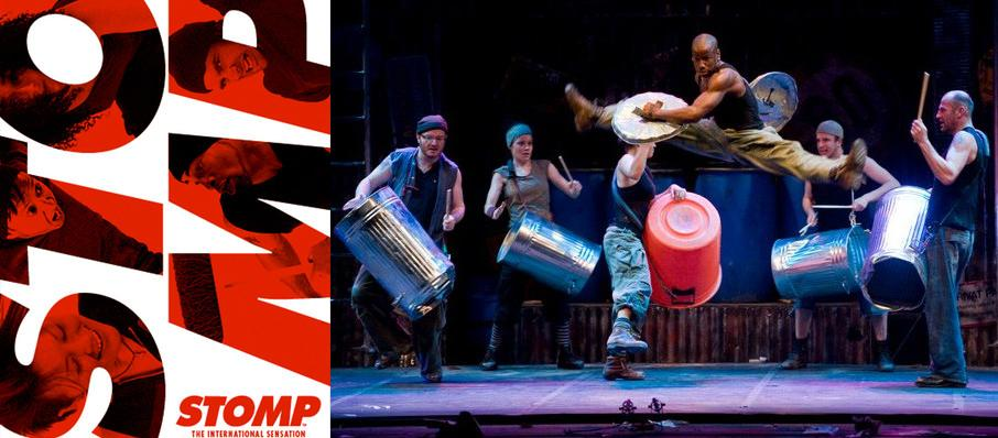 Stomp at Niswonger Performing Arts Center - Greeneville