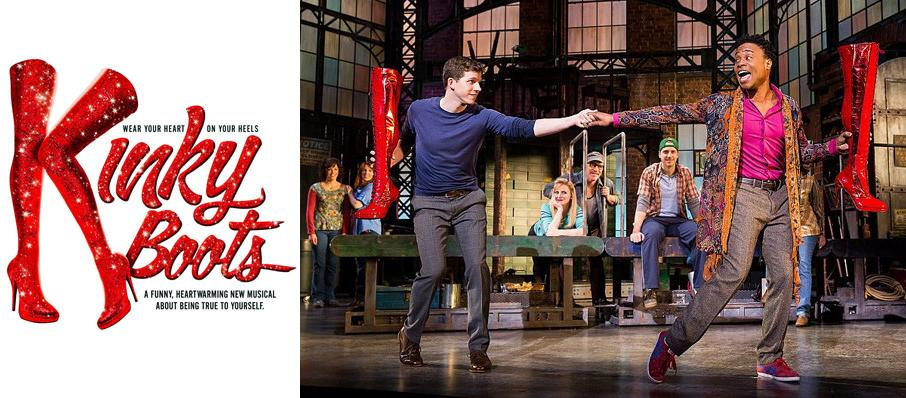 Kinky Boots at Clayton Center For The Arts