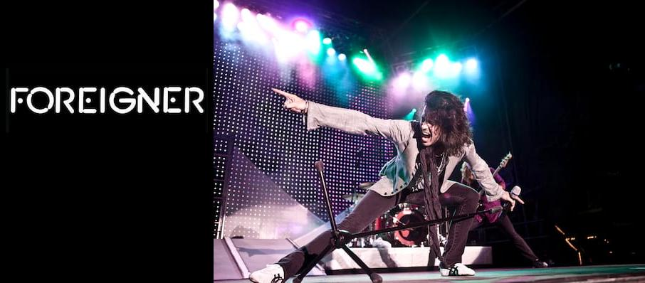 Foreigner at Niswonger Performing Arts Center - Greeneville