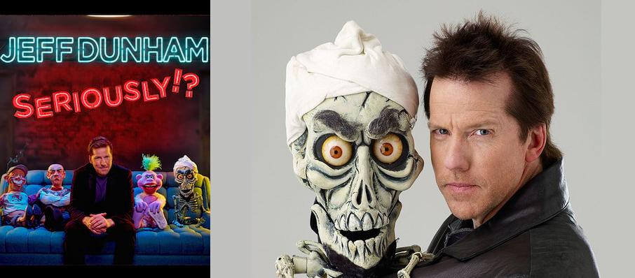 Jeff Dunham at Knoxville Civic Coliseum