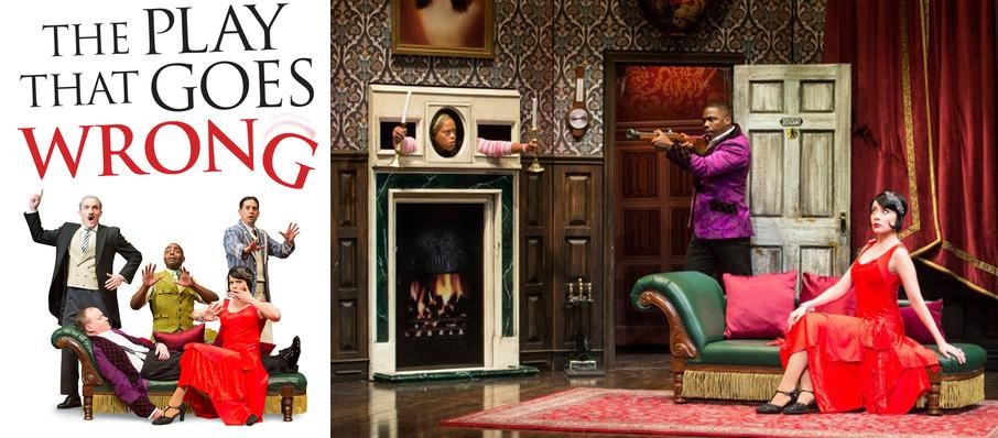 The Play That Goes Wrong at Clayton Center For The Arts