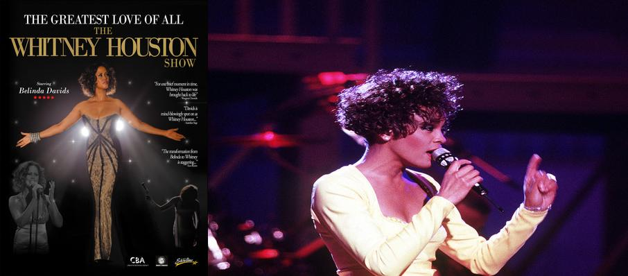 The Greatest Love of All - Whitney Houston Tribute at Niswonger Performing Arts Center - Greeneville