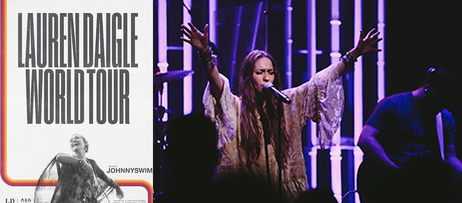 Lauren Daigle at Thompson Boling Arena