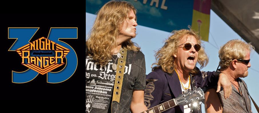Night Ranger at Niswonger Performing Arts Center - Greeneville