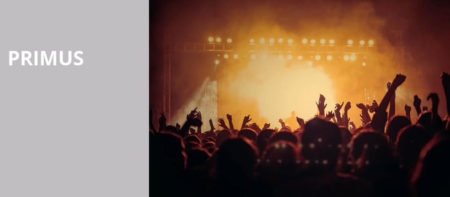 Primus, Tennessee Theatre, Knoxville