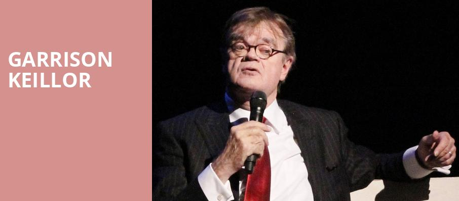 Garrison Keillor, Knoxville Civic Auditorium, Knoxville