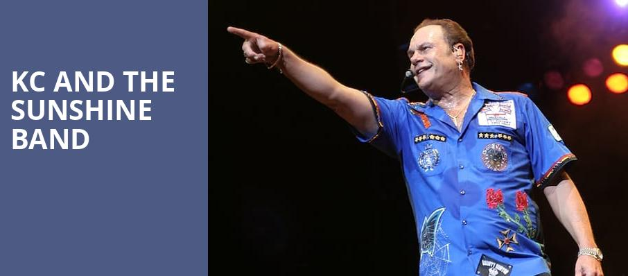 KC and the Sunshine Band, Tennessee Valley Fair, Knoxville
