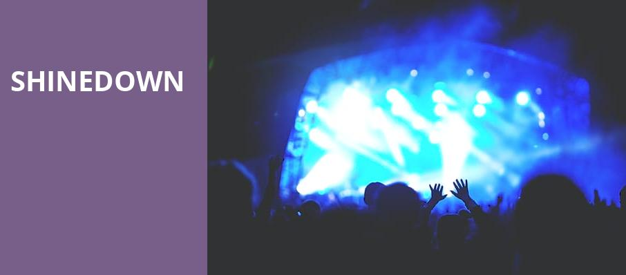 Shinedown, Knoxville Civic Coliseum, Knoxville