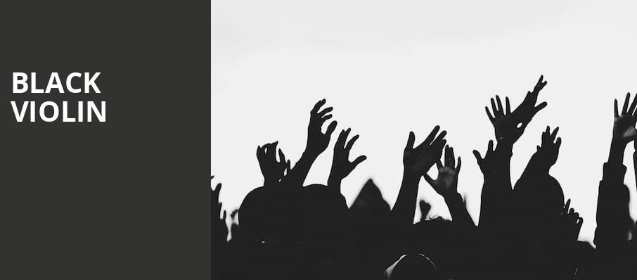 Black Violin, Bijou Theatre, Knoxville