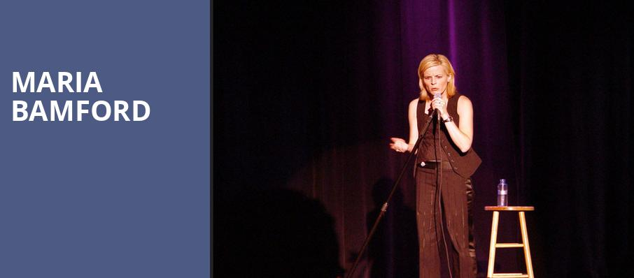 Maria Bamford, Bijou Theatre, Knoxville