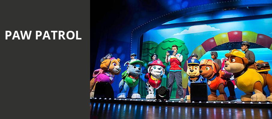 Paw Patrol, Knoxville Civic Auditorium, Knoxville