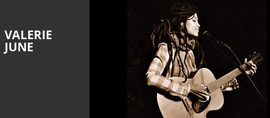 Valerie June, Bijou Theatre, Knoxville