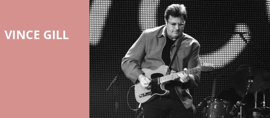 Vince Gill, Knoxville Civic Auditorium, Knoxville