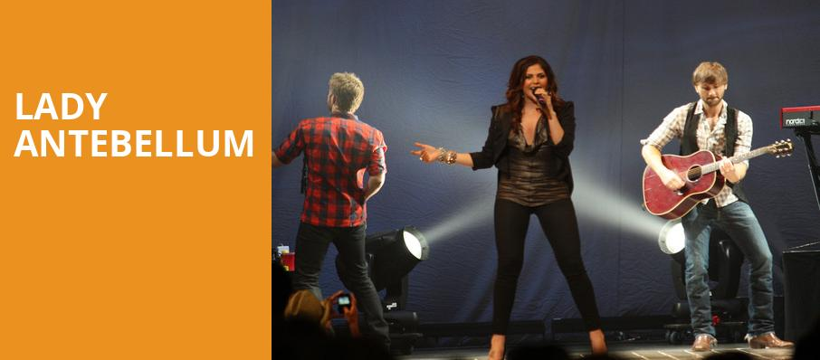 Lady Antebellum, Thompson Boling Arena, Knoxville