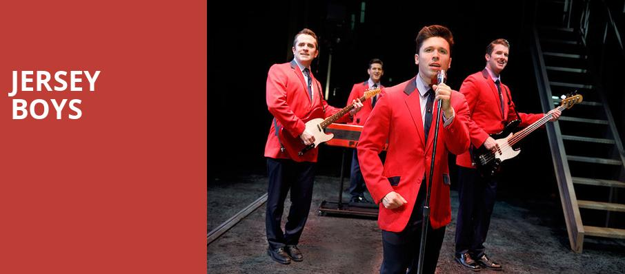 Jersey Boys, Tennessee Theatre, Knoxville
