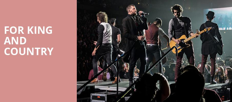 For King And Country, Knoxville Civic Auditorium, Knoxville