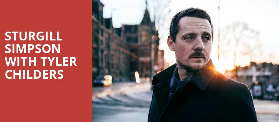 Sturgill Simpson With Tyler Childers, Knoxville Civic Coliseum, Knoxville