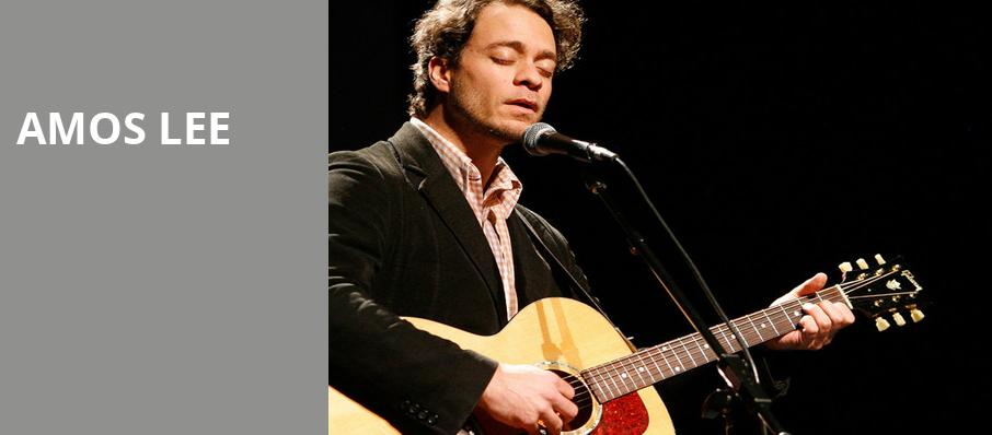 Amos Lee, Tennessee Theatre, Knoxville