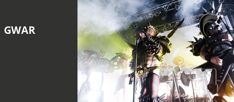 GWAR, The Mill Mine, Knoxville