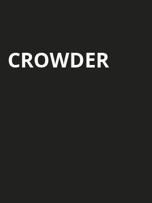 Crowder, Niswonger Performing Arts Center Greeneville, Knoxville