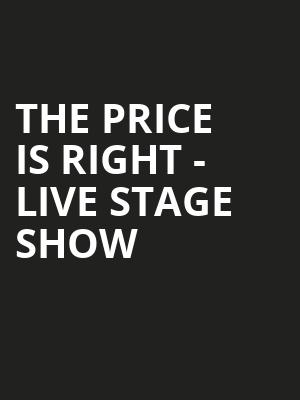 The Price Is Right Live Stage Show, Knoxville Civic Auditorium, Knoxville