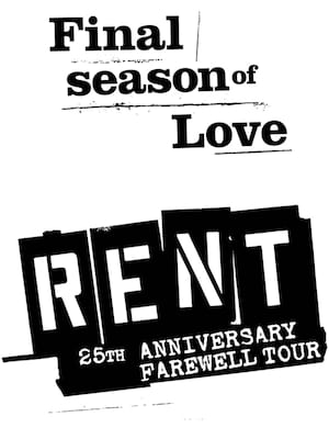 Rent, Tennessee Theatre, Knoxville